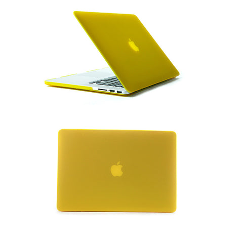 MacBook Pro 13 inch Retina Display Yellow Colour Hard Shell Matt Finish body case