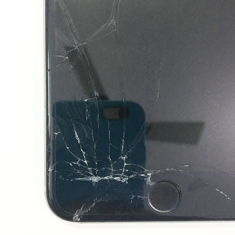 iPhone 6s Display Glass Cracked, Replaced New Display Glass With Warranty