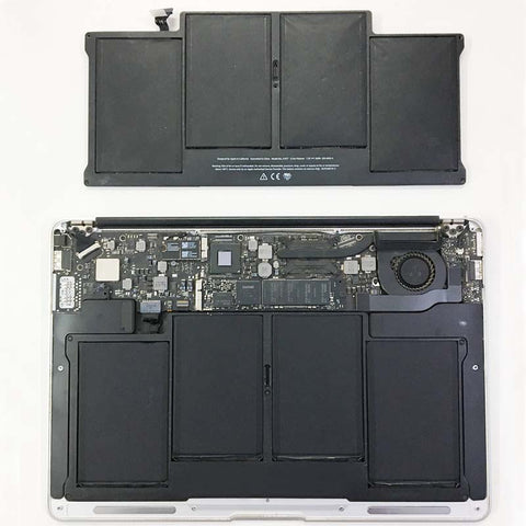 MacBook Air 13 inch Battery Service Warning - Fixed