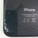 iPhone 8 Back Glass Cracked, Replaced New Housing - Apple World Coimbatore