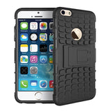 iPhone 6 Hard Hybrid Case Black