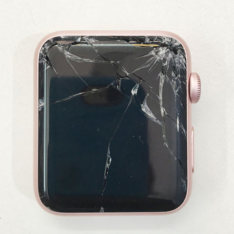 Apple Watch Series 1 42mm Display Glass Broken, Replaced New Glass Alone