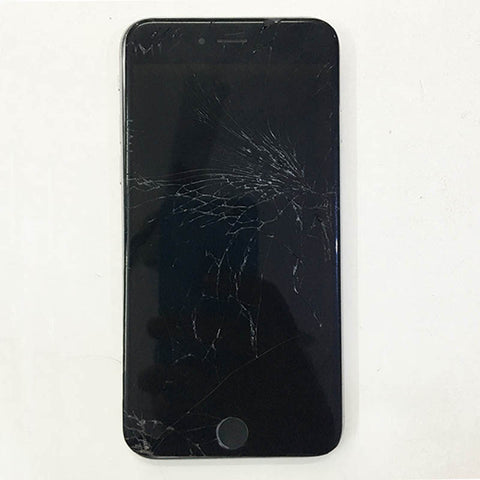 iPhone 6 display glass cracked, Replaced new top glass alone