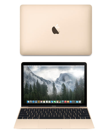 New MacBook 12 inch Gold Laptop Model