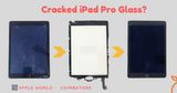 Cracked Your iPad Pro Display ?  No worries!!!! Just replace the cracked glass on top
