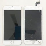 iPhone 6S Display Broken And LCD Shattered, Replaced New Display