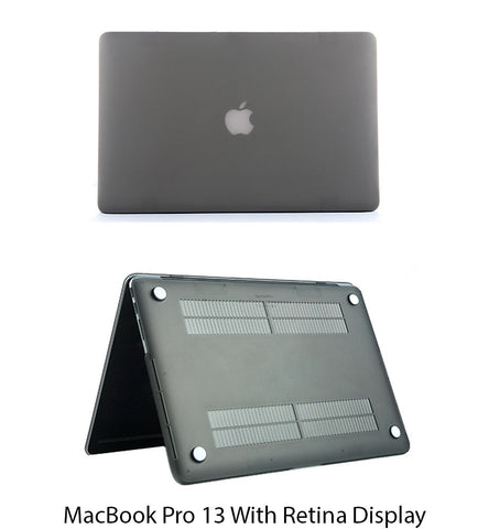 MacBook Pro 13 inch Retina Display Grey Colour Hard Shell Body case
