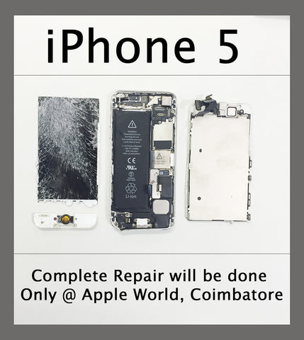 iPhone 5 Complete Repair done