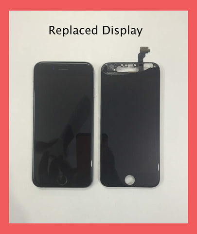 iPhone 6 Cracked LCD replaced