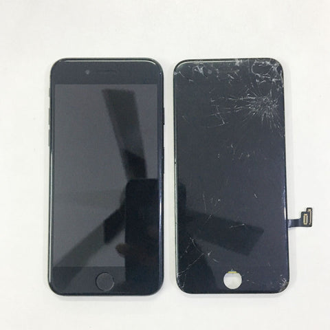 Cracked iPhone 7 Display Replaced - Apple World Coimbatore