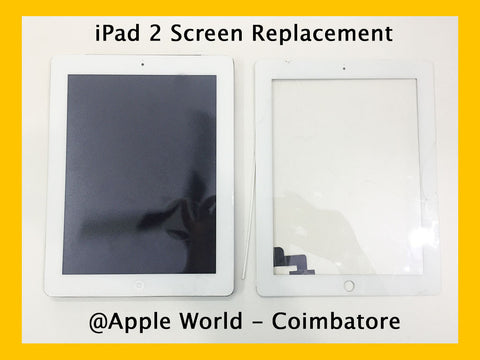 iPad 2 Front Screen Replaced
