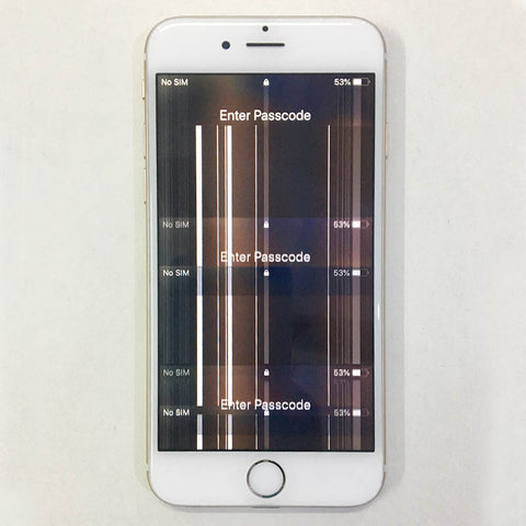 iPhone 6 LCD Damaged And Replaced New Display