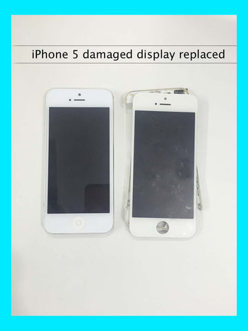 iPhone 5 display frame poped out - Replaced