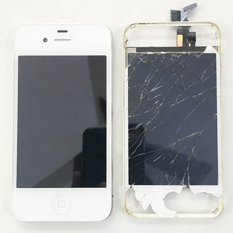 Apple iPhone 4 Display Damaged And Replaced With Warranty