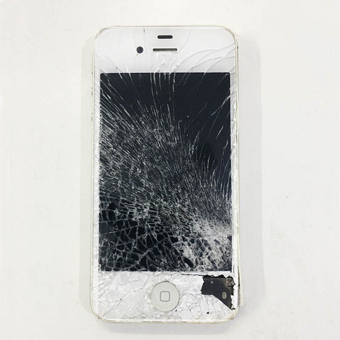 Apple iPhone 4S Display Damaged And New Display Replaced