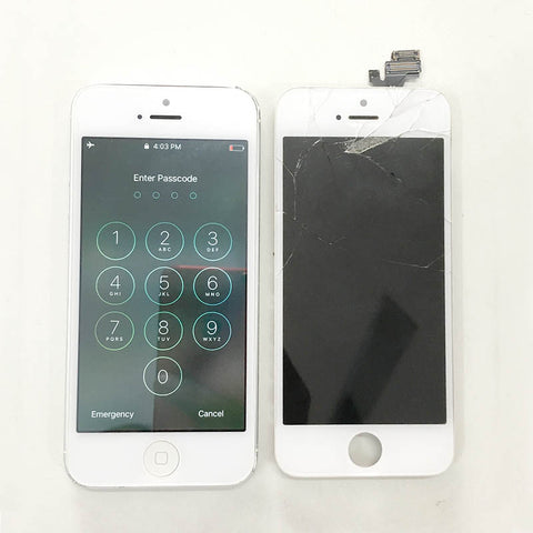 iPhone 5 Display Inside & Outside Damaged