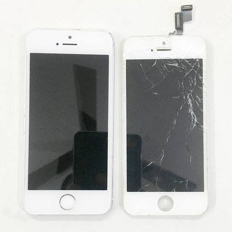 iPhone 5S Cracked Display Replaced Within 2 Hours
