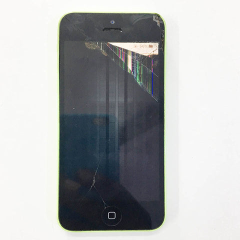 Shattered LCD Damaged in iPhone 5C, We Can Replace New Display