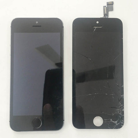 iPhone 5S Cracked Display Replaced