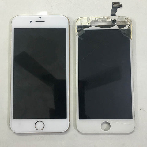 iPhone 6 Broken Display Replaced With Warranty
