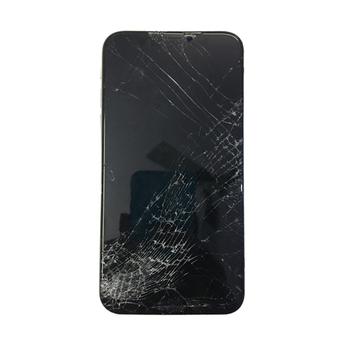 Cracked iPhone X screen replaced with warranty - iPlace Coimbatore