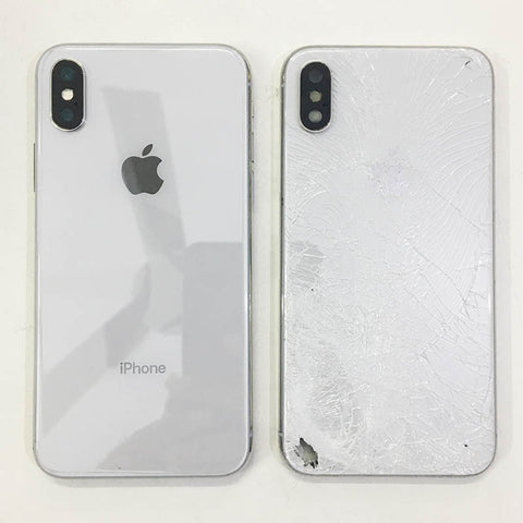 iPhone X Back Glass Cracked - Replaced New Housing