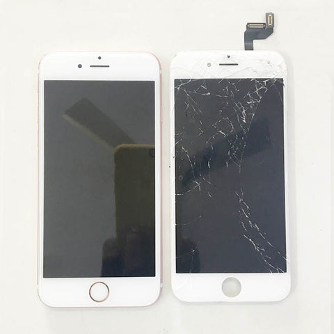 iPhone 6S Display Glass Broken And Replaced