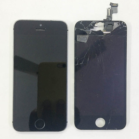 iPhone 5S Display Broken And Replaced
