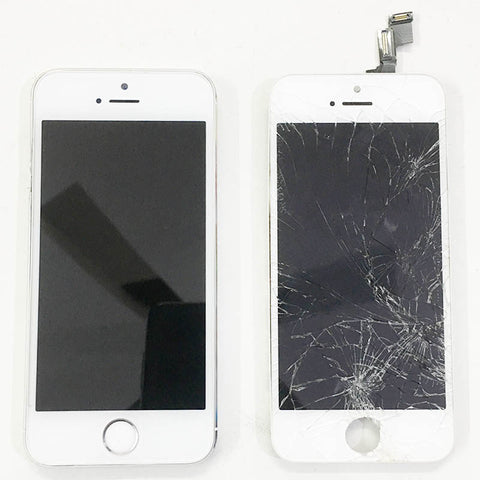 Apple iPhone 5S Display Cracked And Replaced With Warranty