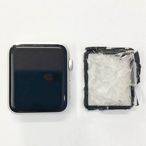 iWatch 42mm Series 1 Display Glass Alone Replaced