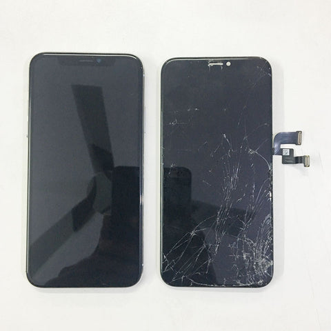 iPhone X Cracked Display Replaced - Apple World Coimbatore