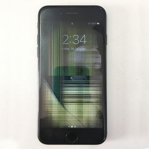Shattered iPhone 7 LCD Inside, We can fix it