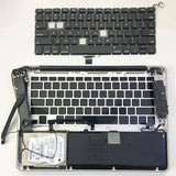 "MacBook Pro 13"" KeyBoard Missing And New Keyboard Replaced"