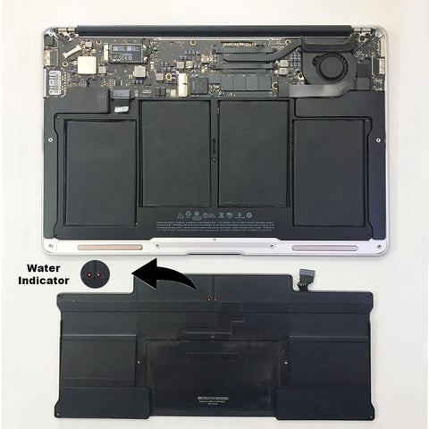 "MacBook Air 13"" Battery Service Warning And Replaced"