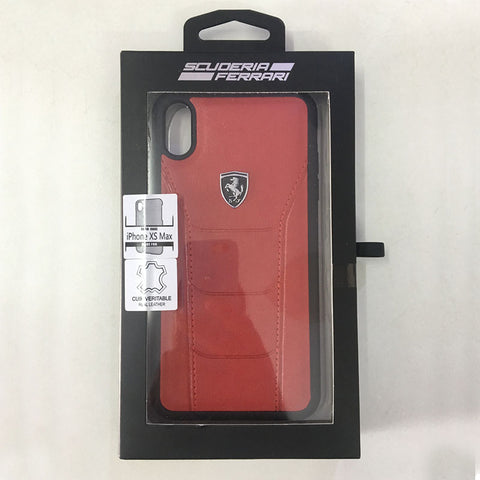 New iPhone Xs/ Xs Max Ferrari Leather Cases