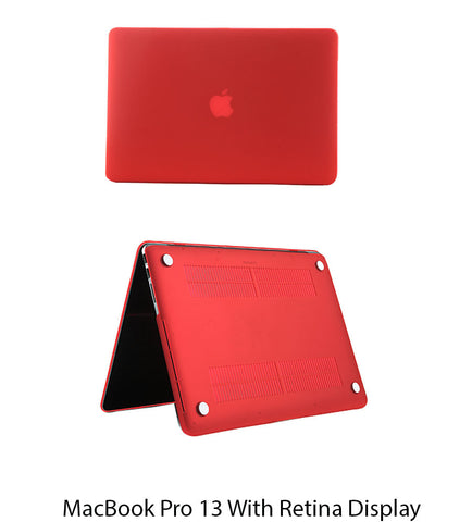 MacBook Pro 13 inch Retina Display Red Colour Hard Shell Body Case