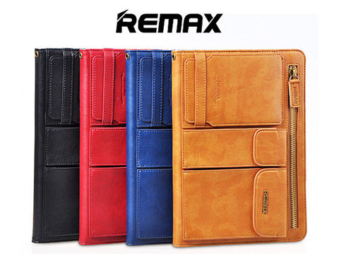 Remax iPad Air Leahter Jacket Case with pocket holders