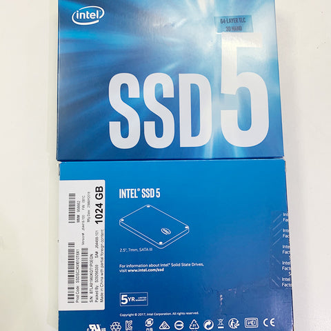 Intel 1TB SSD for MacBook and iMac @ 19900/-