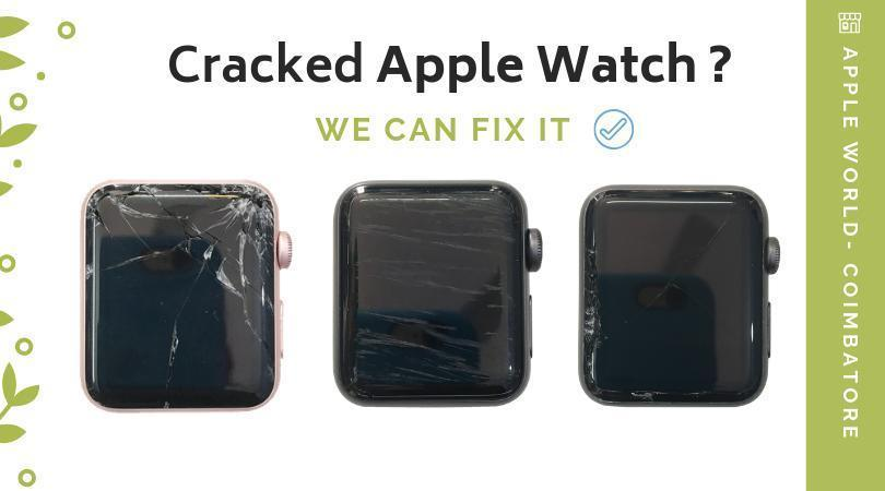 Apple watch display glass replacement