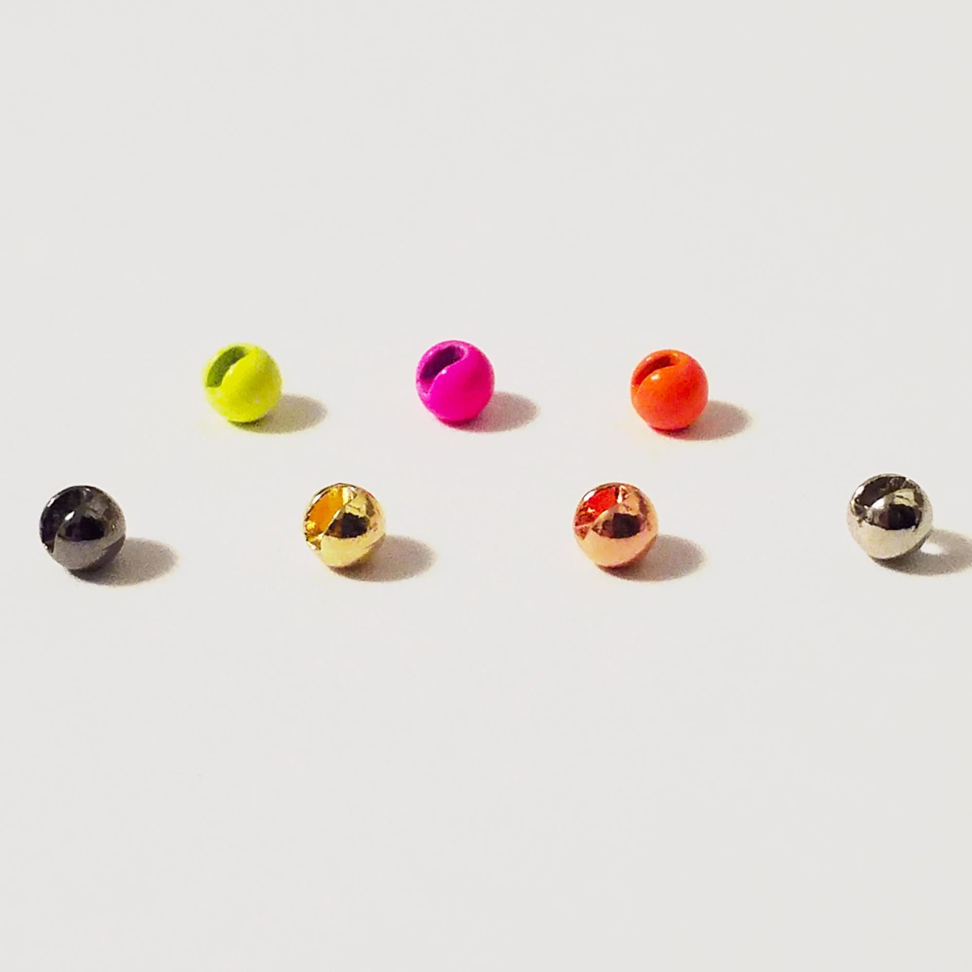 Bordeaux Slotted Tungsten Beads 25pcs