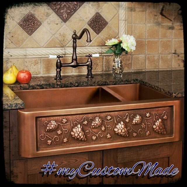 Custom Copper Kitchen Sinks – Custom Made Products