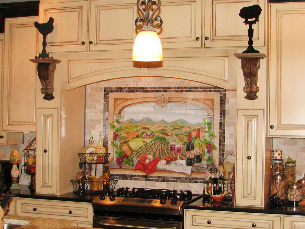 - Kitchen Backsplash Ceramic Tile Murals – Custom Made Products