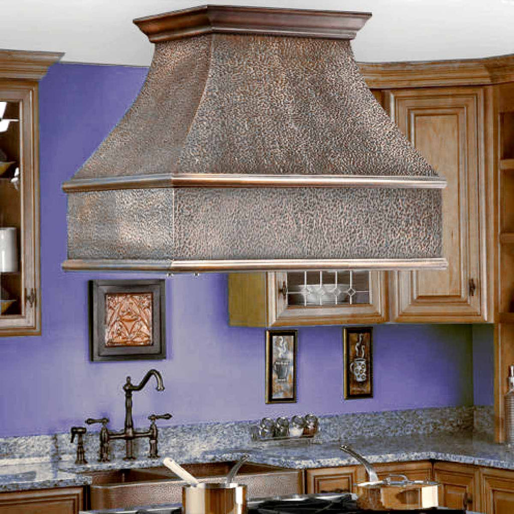 Customized Antique Copper Range Hoods