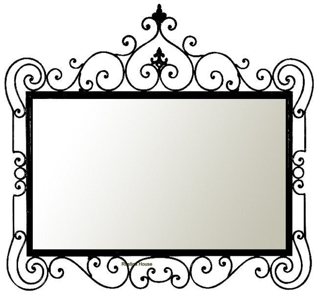 Custom Iron Mirrors