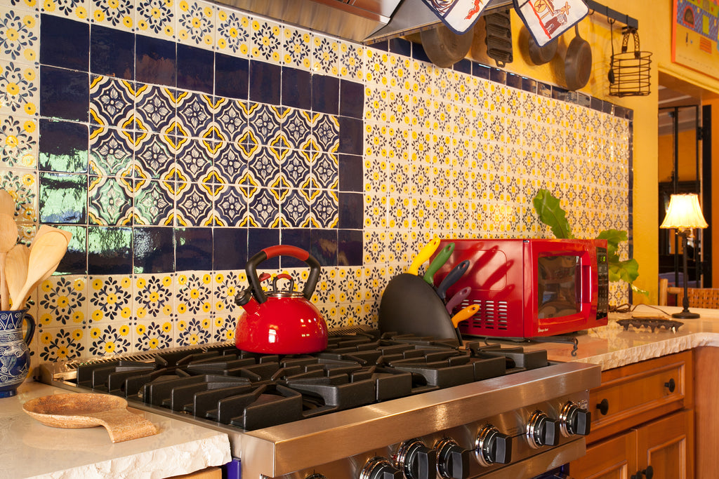 Decorative Kitchen Backsplash Tile Murals