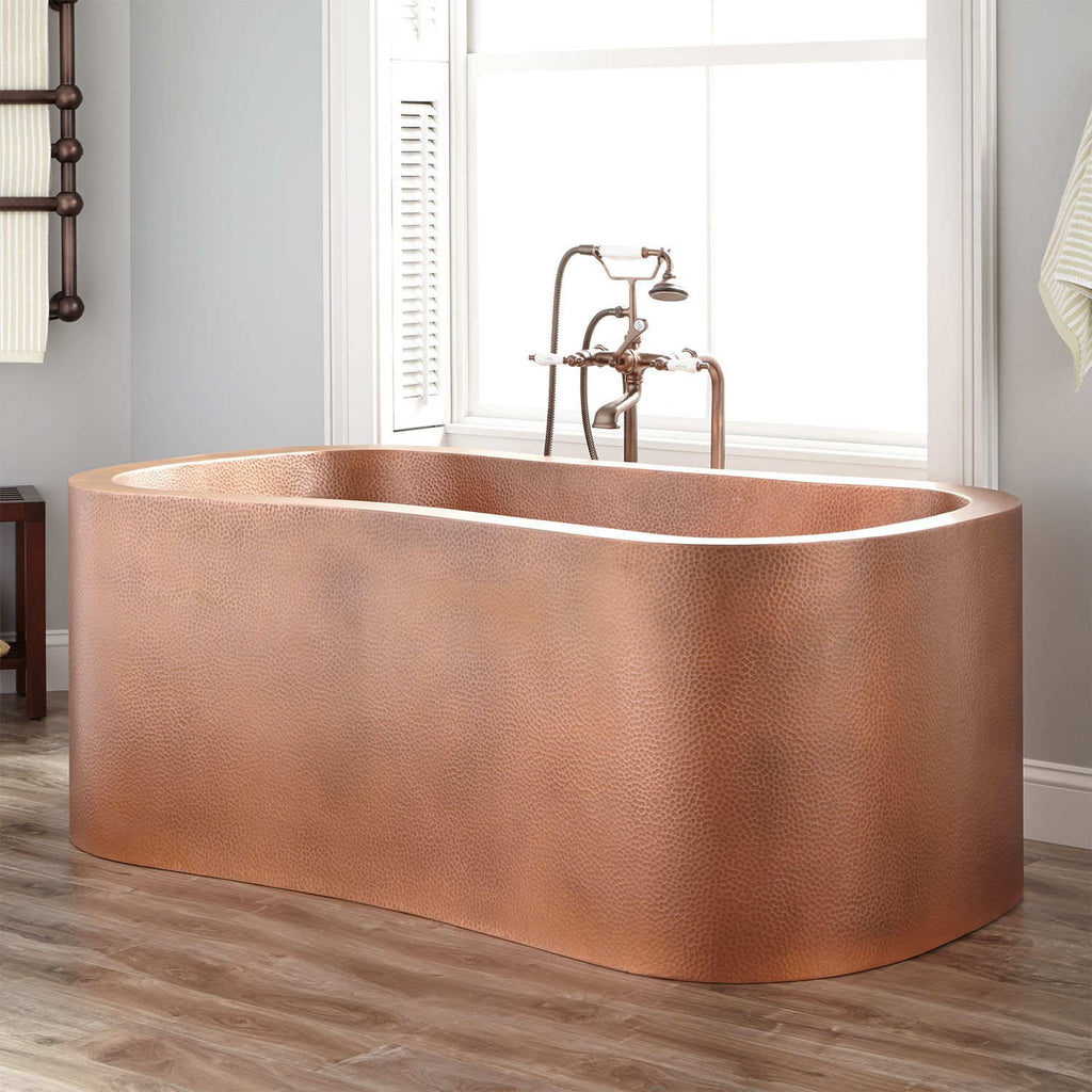 Copper Bathtubs Patina Finishing Options
