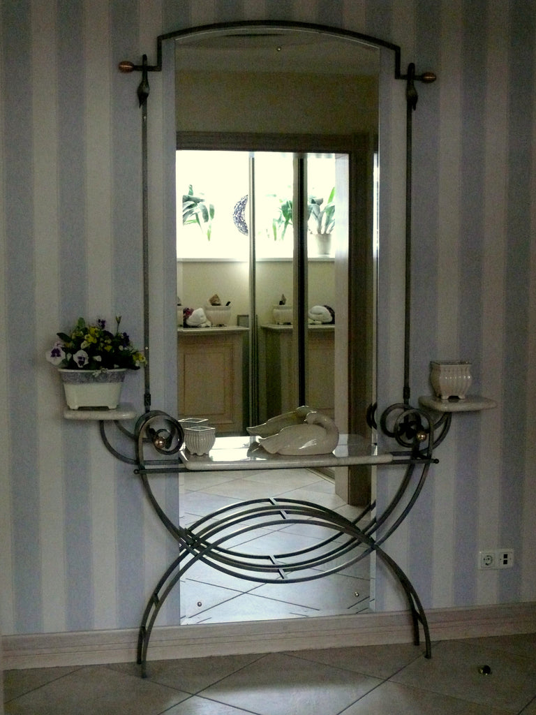 Wrought Iron Mirror Frames