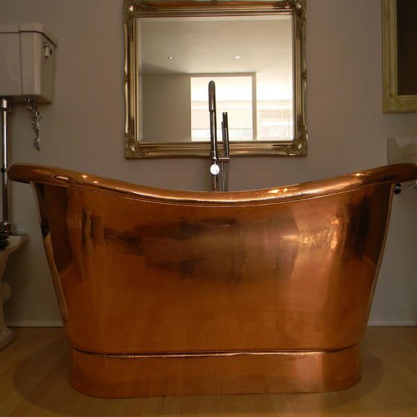 soaking copper bathtub benefits