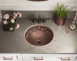 copper sink for bathroom