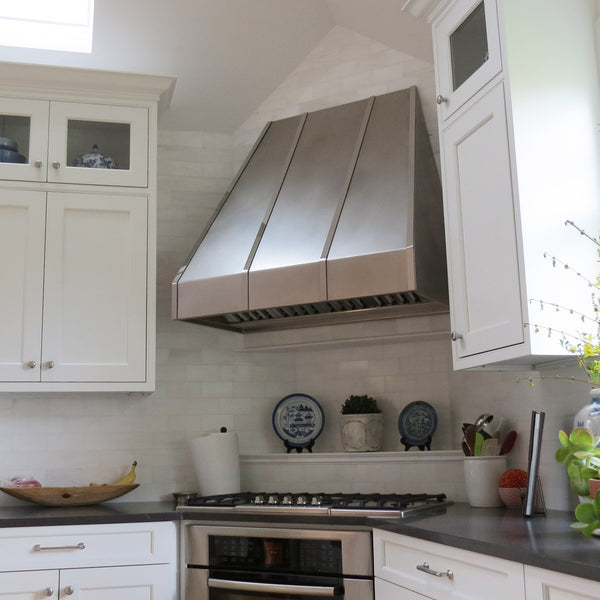 custom kitchen metal range hoods